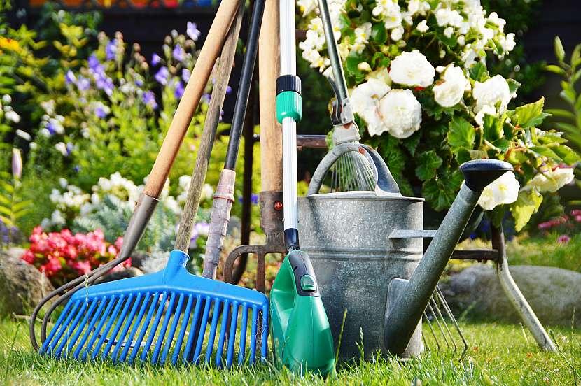 Zahradnické nářadí si zaslouží vaši péči, která nemusí být časově a finančně náročná