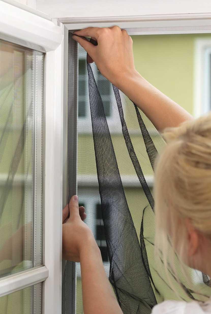 Postup pro instalaci sítě do oken
