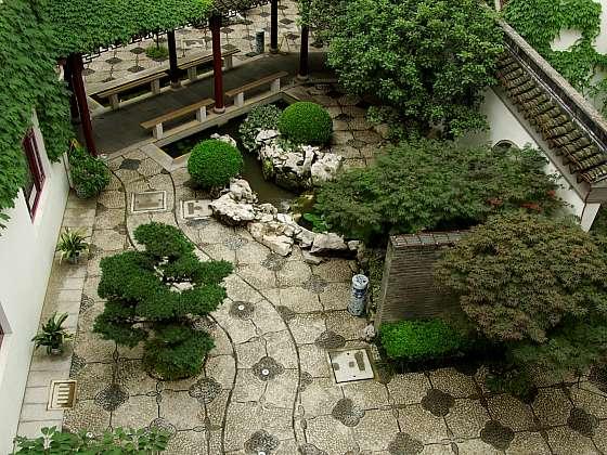 V atriích či na malé zahradě se bude dařit japonským javorům i tvarovaným jehličnanům (Zdroj: Daniela Dušková)