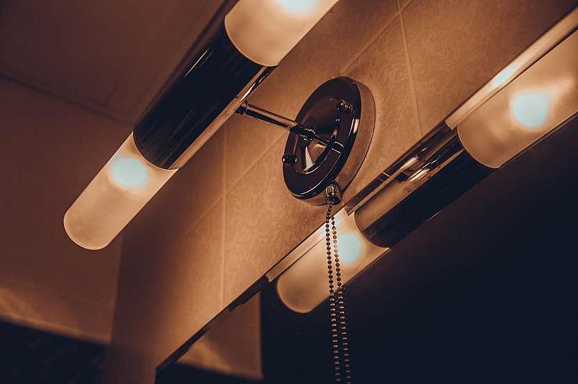 Koupelnové osvětlení musí odpovídat platné normě