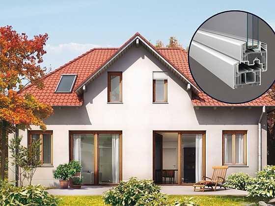 Okenní PVC profily s recyklovaným jádrem jsou trendem a budoucností