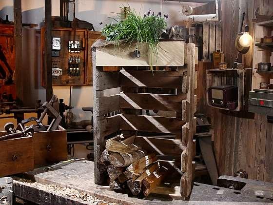 Vyrobte si dřevník z palet (Zdroj: Archiv FTV Prima, se svolením FTV Prima)