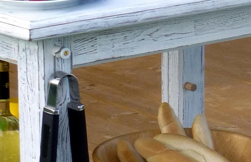 Patinovaný stolek pod gril 5