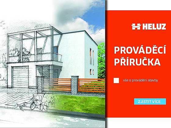 S Prováděcí příručkou HELUZ postaví dům i laik