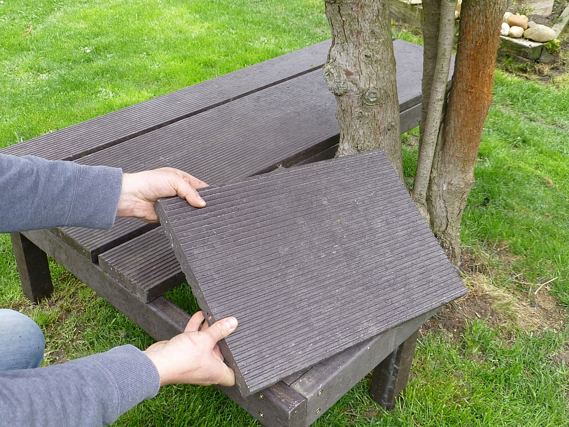 Jak si udělat univerzální a bezúdržbovou lavičku 7