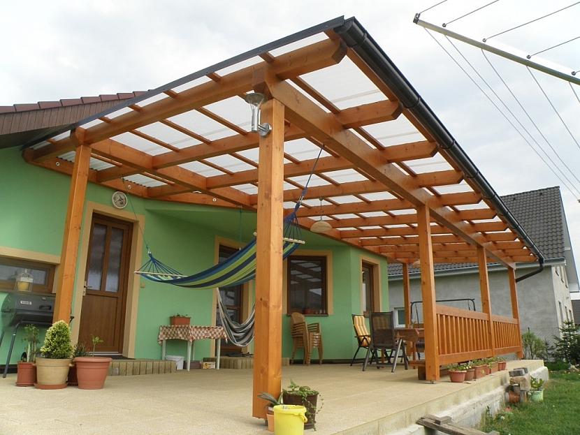 Tip na střešní krytinu pro zahradní stavby
