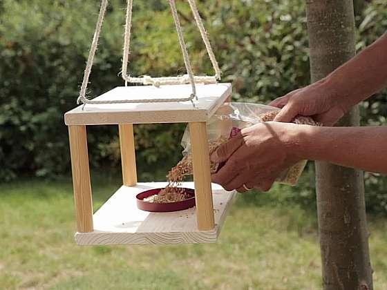 Vyrobte jednoduché krmítko pro ptáčky (Zdroj: Prima DOMA MEDIA, s.r.o.)