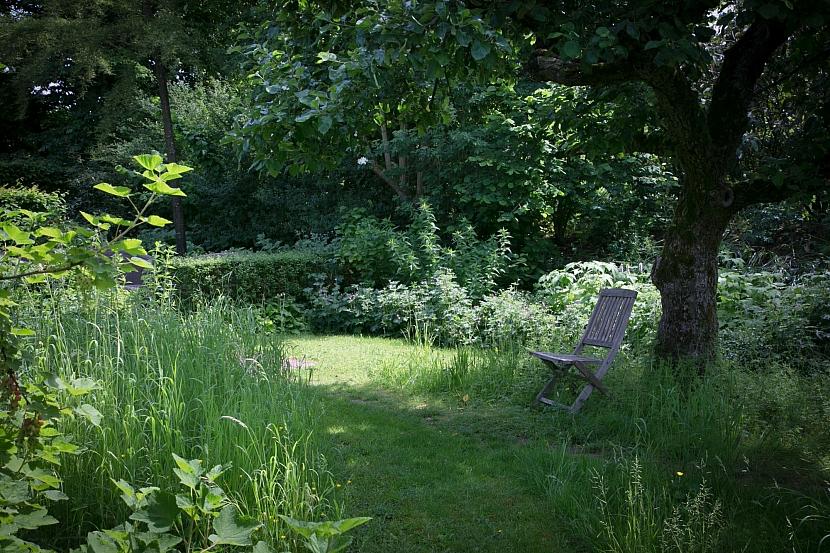 Venkovská zahrada v přírodním stylu