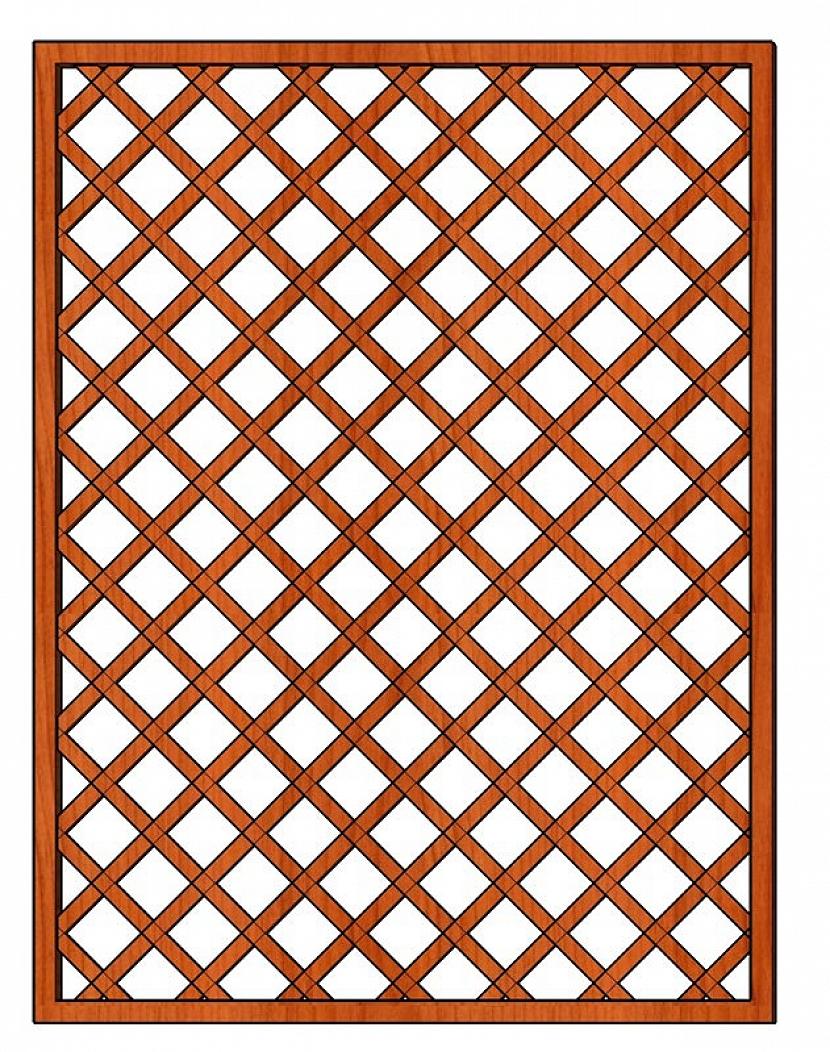Dekorační mřížky
