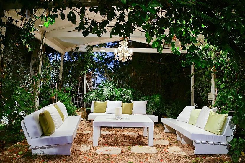 paletový zahradní nábytek
