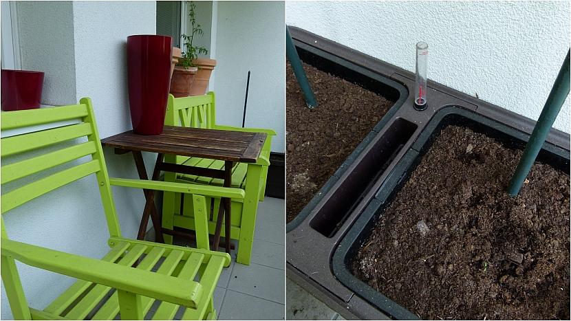 Zahrádka na balkoně: Chtělo by to trochu zeleně