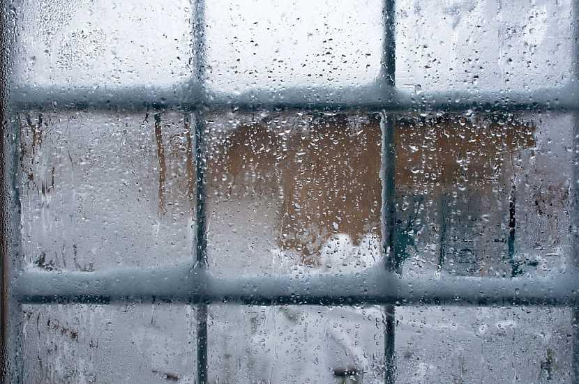 Námraza vzniká především kvůli vlhkosti