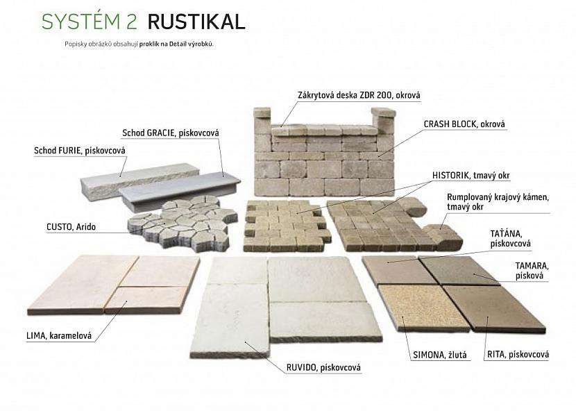 Ukázka vzorového systému Rustikal
