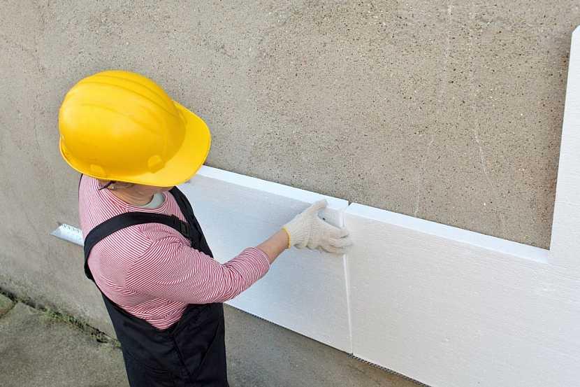 Zateplování polystyrenem je nejčastější způsob