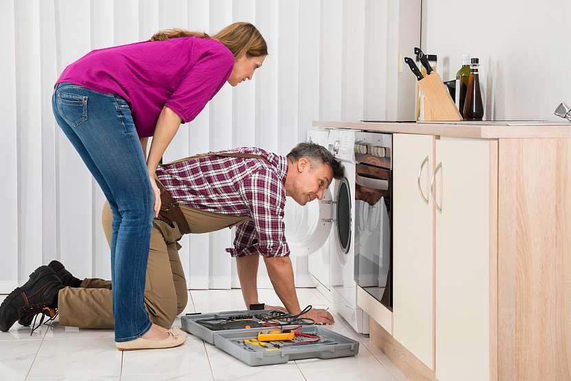Porucha pračky