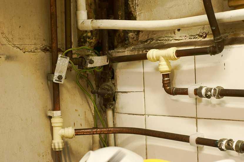 Staré rozvody vody nesou velké riziko spojené s výrazným snížením kvality vody