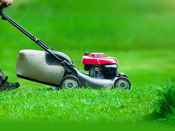 Aby byl trávník krásný, je třeba ho správně sekat (Zdroj: Depositphotos)