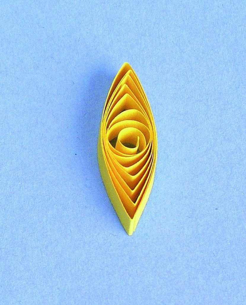 Základní tvary, které budete potřebovat pro zhotovení levandule