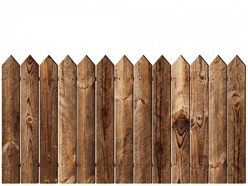 Dřevěný plot je nestárnoucí klasika