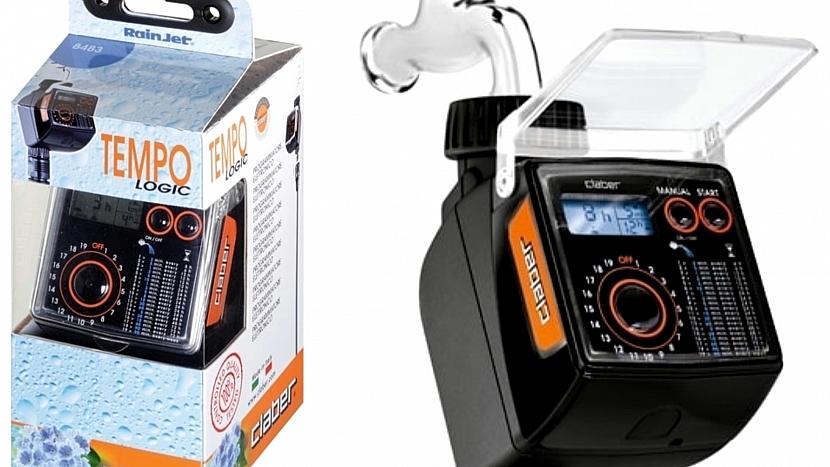 Jak chránit zahradu před vedrem a suchem: jednoventilový automatický časový spínač TEMPO LOGIC