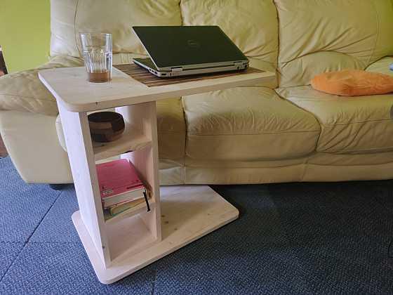 Vyrobte si odkládací stolek podle našeho návodu (Zdroj: Pavel Kutil Zeman)