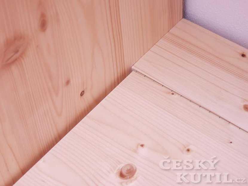 Šatní skříň v podkroví - 2. díl