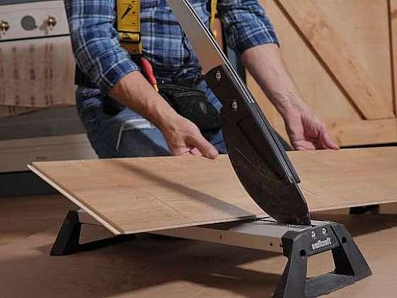 Jak řezat plovoucí laminátovou podlahu (Zdroj: Prima DOMA MEDIA, s.r.o.)