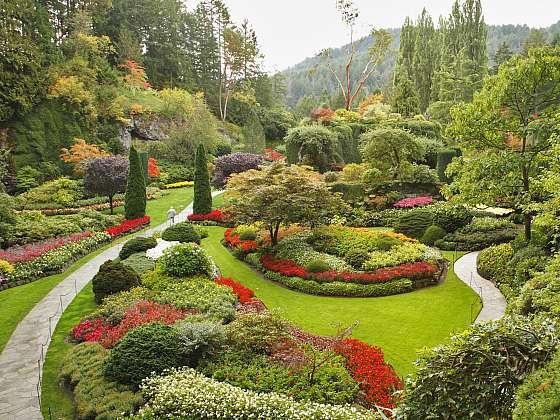 Krásná zahrada je snem každého zahrádkáře (Zdroj: Depositphotos)