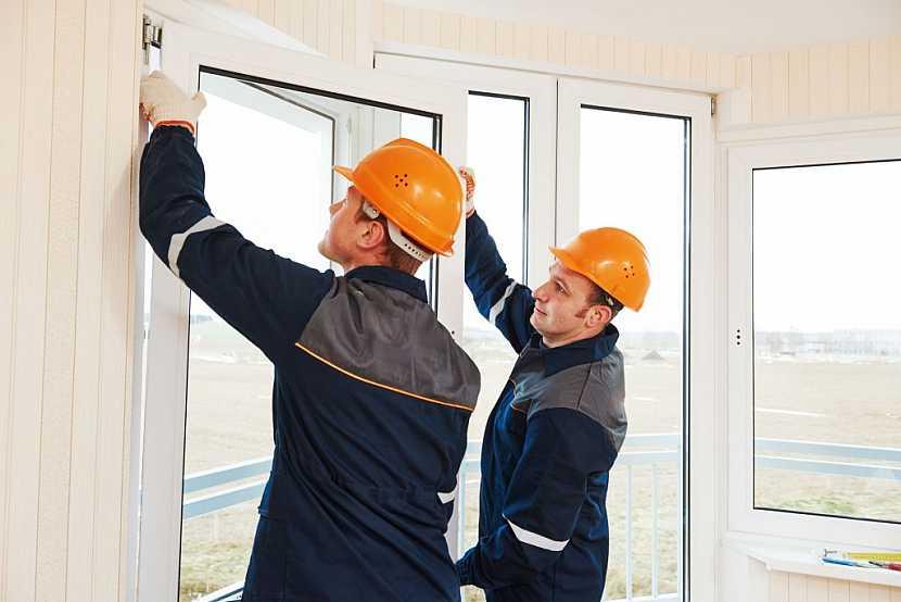 Instalace oken je snazší v nových bytech bez vybavení