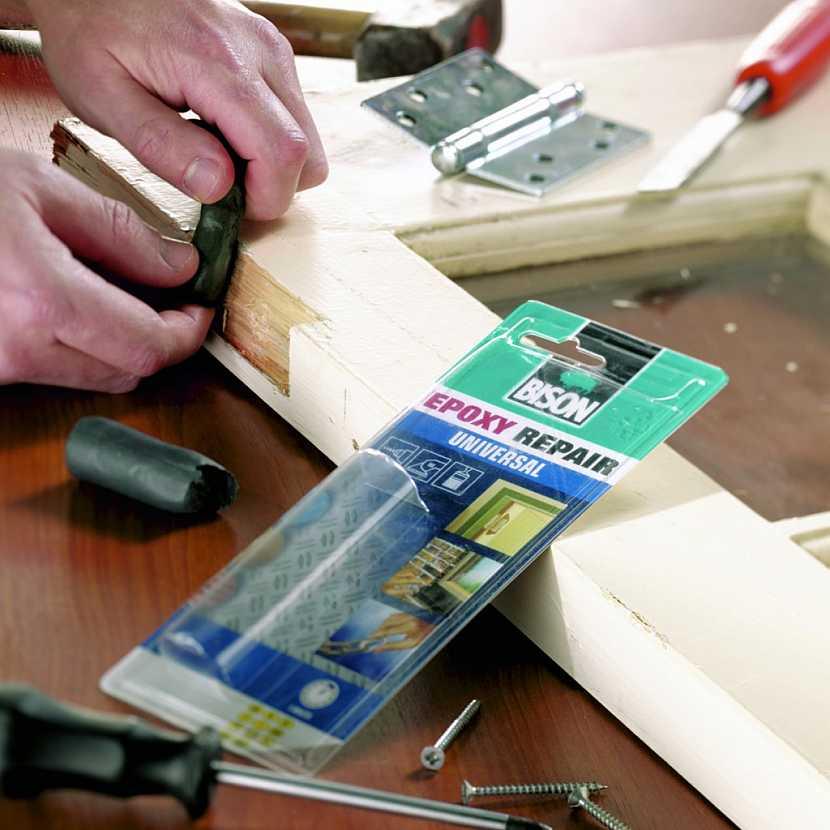 TIP 1: EPOXY plastelína na doplnění dřeva