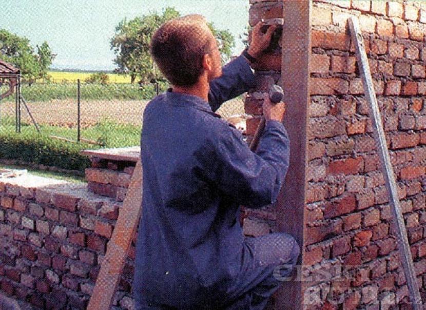 Stavba zahradní kuchyně – 1. díl