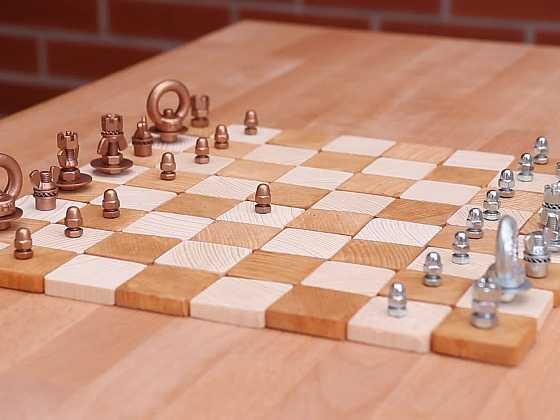 Vyrobte si s námi originální šachy ze šroubků (Zdroj: Prima DOMA)