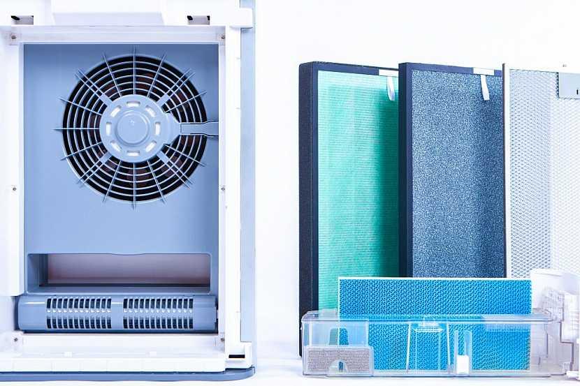 Čistička vzduchu je malé, ale velmi účinné zařízení s mnoha filtry
