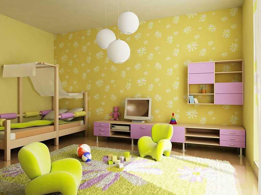Neutrální a přírodní barvy by měly převažovat, veselé, zářivé barvy zajistíte dekoracemi a drobnými doplňky