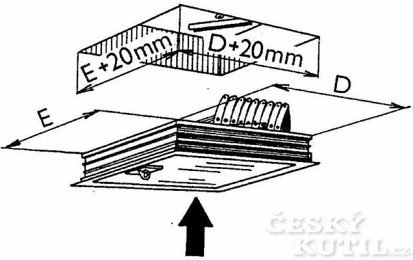 Co předchází vlastní montáži stahovacích schodů?