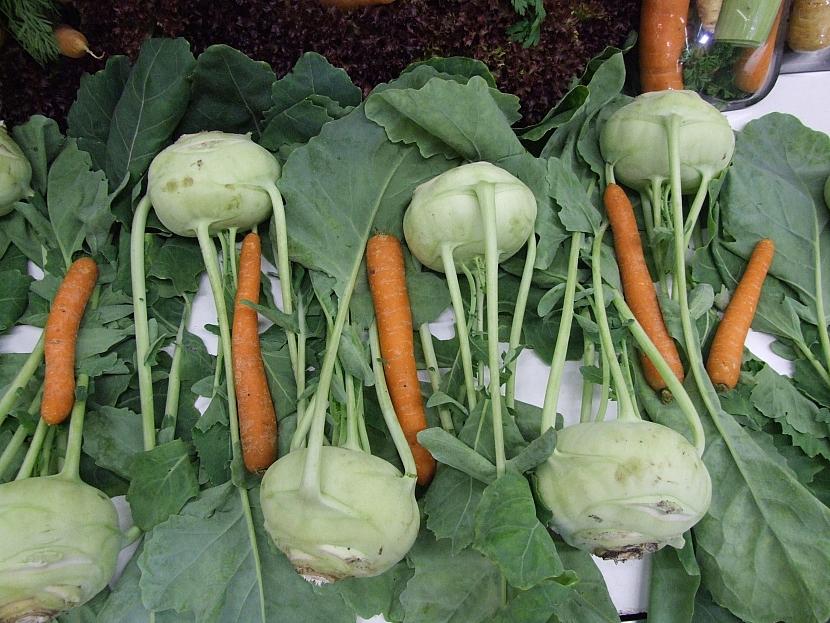 Kedlubny s mrkví