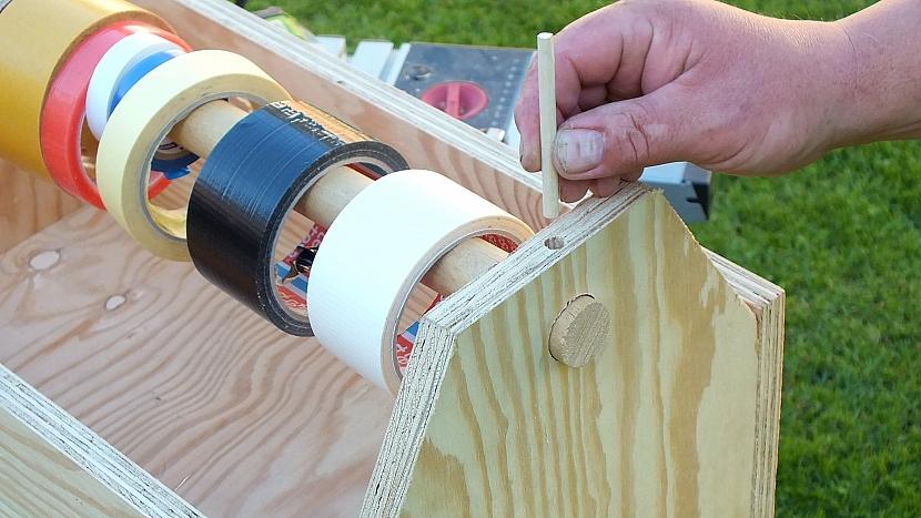Jak si vyrobit šikovné nosítko na často používané nářadí 5