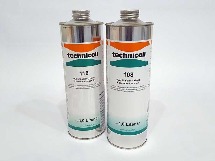 Lepidla Technicoll jsou určena pro lepení plného polykarbonátu