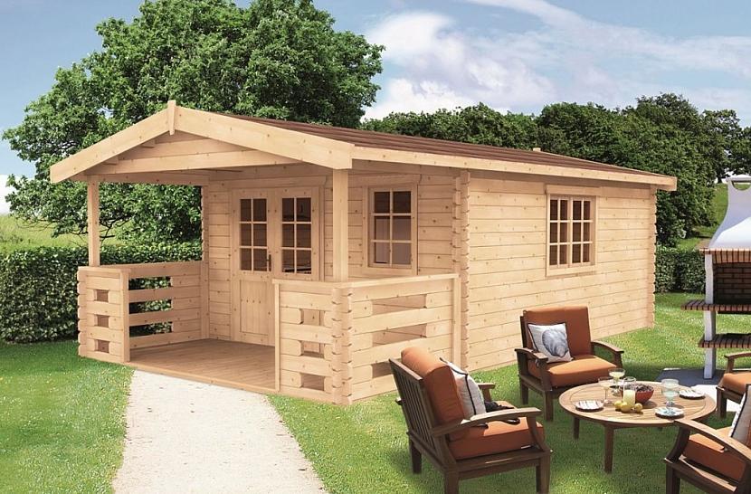 Modulární zahradní domky si lze zvolit z celé řady variant a velikostí