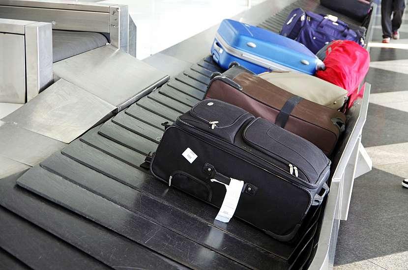 zavazadla na pásu