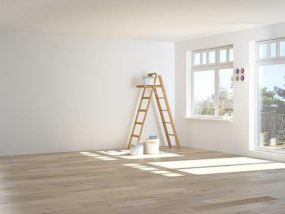 Jak efektivně oškrábat starou barvu ze zdi (Zdroj: Depositphotos)