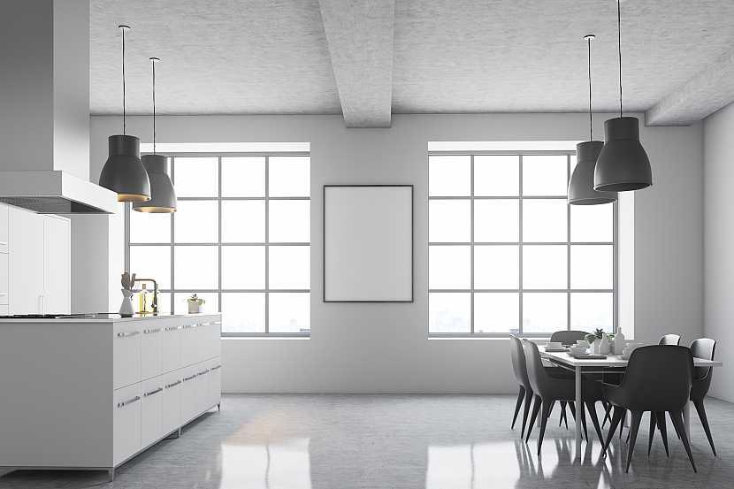 Moderní minimalistická kuchyně