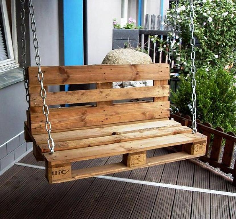 Jak využít recyklovaných palet na zahradě 2
