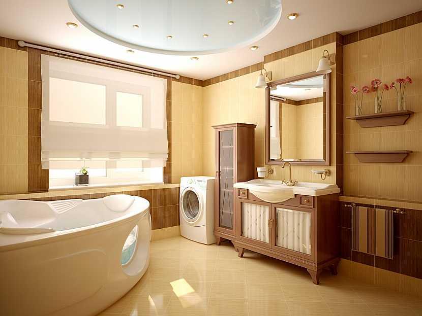 Dřevěné koupelnové sety - skříňky a police