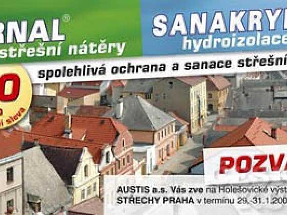 Austis Vás zve na veletrh Střechy Praha