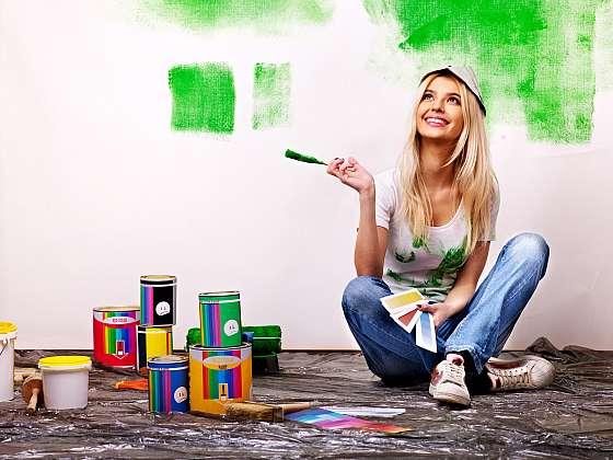 Víte, že jsou chyby, které při malování dělá skoro každý? Pojďme se z chyb poučit a pro příště se jich vyvarovat (Zdroj: Depositphotos (https://cz.depositphotos.com))
