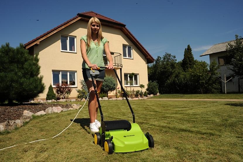 Kvalitní trávník vyžaduje kvalitní vertikutátor Fieldmann