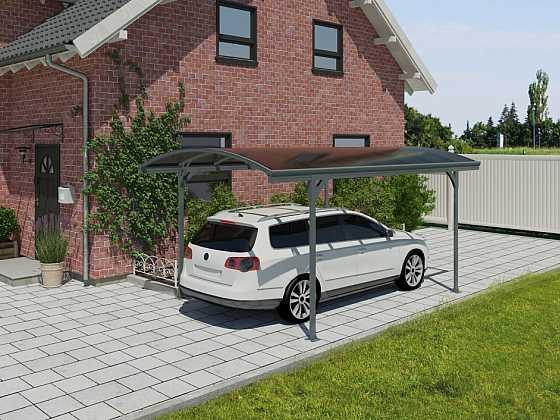 Kryté stání pro váš automobil postavíte za jeden den