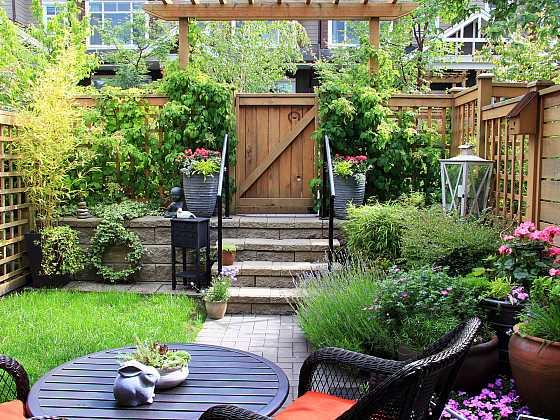 Vytvořením i malé zahrady získáte další obytný prostor (Zdroj: Depositphotos)