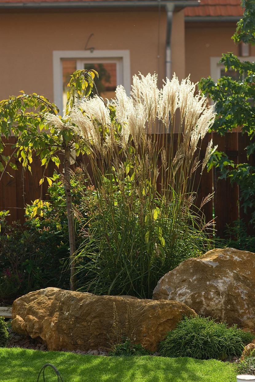 6 traviny vypadají výborně i v kombinaci s kameny